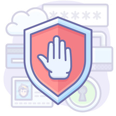 privacy protection shield