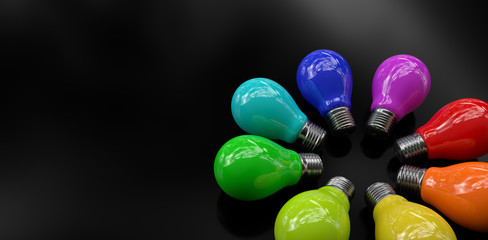 Light Bulb Color 8x