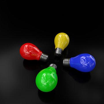 Light Bulb Color 4x