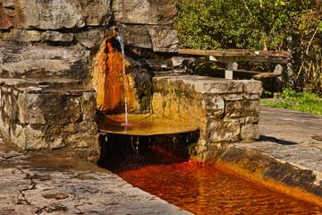 Mineralwasserquelle