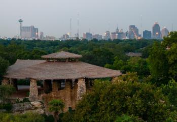 San Antonio and Pagoda