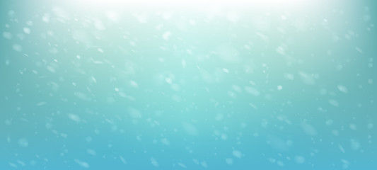 Falling snow background. Vector illustration.
