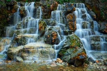Small waterfall cascade Wall mural