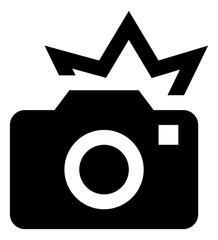 Camera Flash Vector Icon