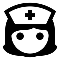 Nurse RN Vector Icon