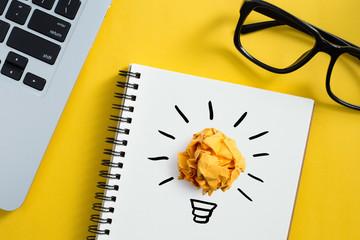 Concept Creative Or Good Idea And Innovation