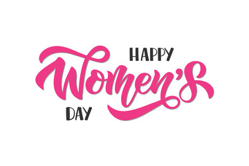 Womens Day lettering