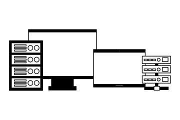 computer monitor laptop database server
