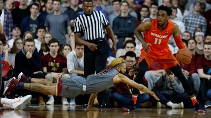 NCAA Basketball: Syracuse at Boston College