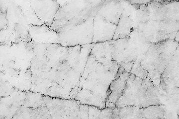 Black and white marble texture and background with high resolution