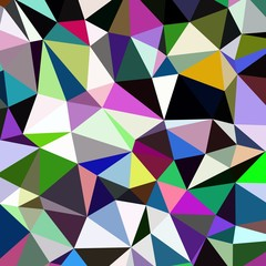 Abstract background multicolored geometric poligonal