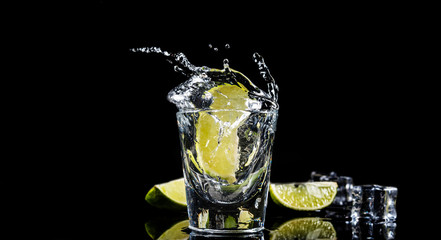 Mexican tequila splash Fototapete