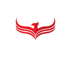 Sets of Phoenix logo design template