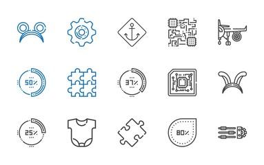 part icons set