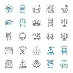 luxury icons set