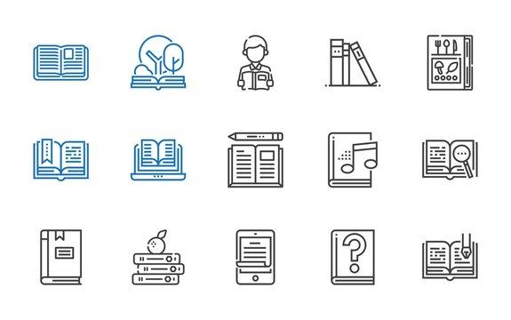 read icons set