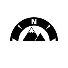 Compass icon or logo
