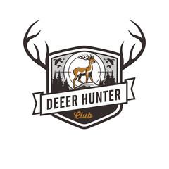 Deer Hunter emblem logo