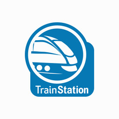 Train Station Logo