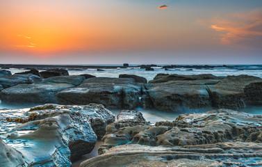 Rocky Coastal Sunrise