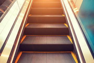 escalator step inside