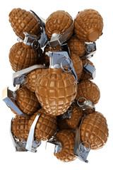 Chocolate hand grenades