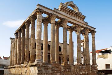 Temple of Diana,Merida,Spain