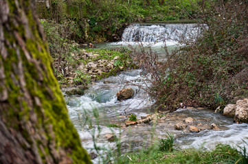 source of the river sele, caposele avellino.
