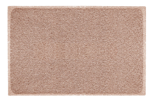 background of brown mat