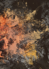 Contemporary artwork, modern abstract