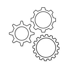 gears concept- vector illustration