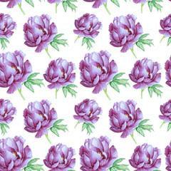 pattern with amazing peony