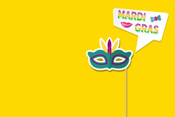 Celebration festive background for Mardi Gras Carnival Festival - Mardi Gras Events and Party