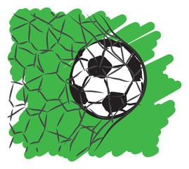 football soccer illustra