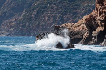 Fototapeta Zatoka Porto, Korsyka
