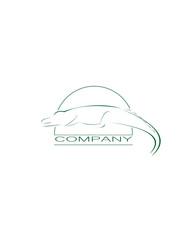 crocodile logo art