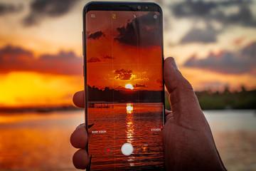 sol no celular