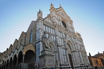 Firenze, la chiesa di Santa Croce