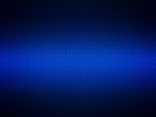 Blue chrome metallic mesh. metal background and texture
