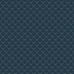 Dragon Scale Seamless Pattern - Dragon scales repeating pattern design