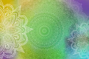 Mandala Grunge Background
