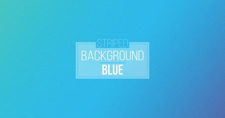 Blue diagonal lines. Striped wallpaper. Seamless surface pattern design with symmetrical linear ornament. Stripes motif. Vector art.