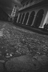 Straße in Kuba
