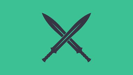 Gekreuzte Schwerter Logo