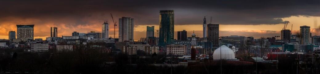 Birmingham UK skyline Fototapete