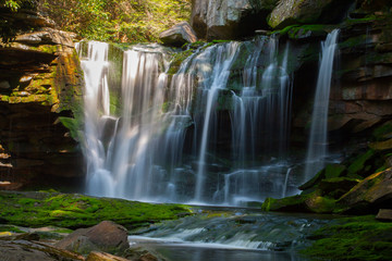Printed roller blinds Waterfalls Elakala Falls, West Virginia