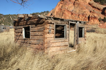 Log Cabin by Skip Weeks