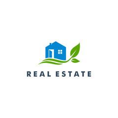 Real Estate  Logo design, Home icon vector illustration