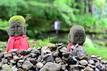 京都・大原のお地蔵さん