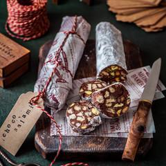 Christmas Chocolate Salami